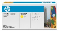 Original HP Color Laserjet Toner Q6002A yellow - Neu & OVP