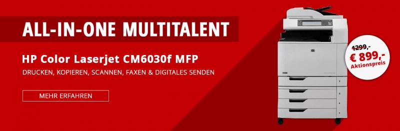 HP Color Laserjet CM6030f MFP Aktion