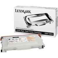 Lexmark Toner 20K1403 black - C-Ware