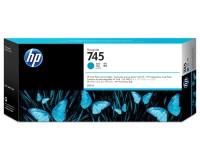 HP 745 Tinte F9K03A cyan