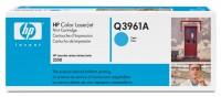 Original HP Color Laserjet Toner Q3961A cyan - Neu & OVP