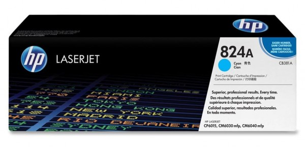 HP Color Laserjet Toner CB381A cyan