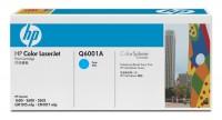 Original HP Color Laserjet Toner Q6001A cyan - reduziert