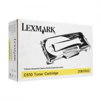 Lexmark Toner 20K0502 yellow - reduziert