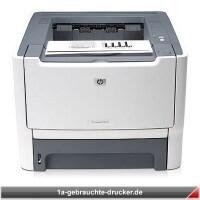 HP Laserjet P2015DN - Nur 10 gedruckte Seiten