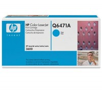 HP Color Laserjet Toner Q6471A cyan