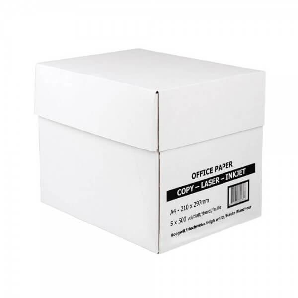 2500 Blatt Kopierpapier im Karton