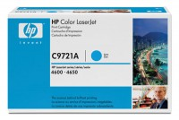 HP Color Laserjet Toner C9721A cyan