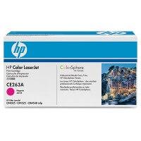 HP Color Laserjet Toner CE263A magenta - reduziert