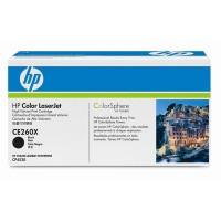 HP Color Laserjet Toner CE260X black - reduziert