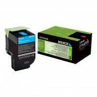 Lexmark Toner 80C2XCE cyan