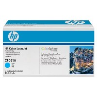 HP Color Laserjet Toner CF031A cyan - reduziert