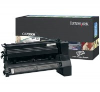 Lexmark Toner C7700KH black - reduziert