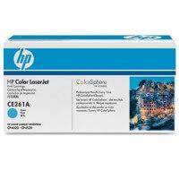 HP Color Laserjet Toner CE261A cyan - reduziert