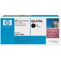 Original HP Color Laserjet Toner Q6470A black - Neu & OVP