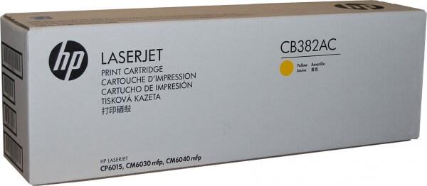 HP Toner CB382YC yellow Projekt hohe Kapazität