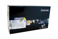 Lexmark Toner C5240YH yellow - reduziert
