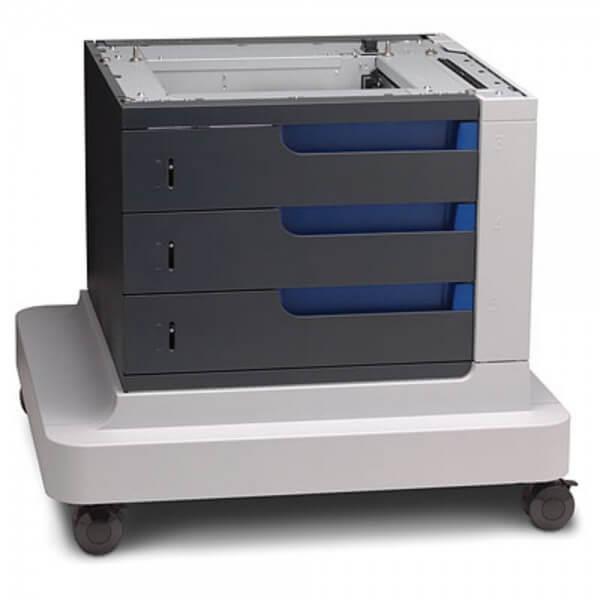 Druckerunterstand auf Rollen mit 3 x 500 Blatt Papierfächer - CC423A