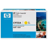 Original HP Color Laserjet Toner C9722A yellow - Neu & OVP