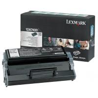 Lexmark Toner 12A7400 black