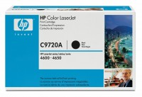 Original HP Color Laserjet Toner C9720A black - Neu & OVP
