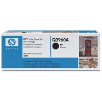 Original HP Color Laserjet Toner Q3960A black - Neu & OVP