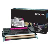 Lexmark Toner X748H1MG magenta - reduziert