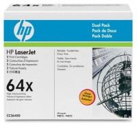 HP Laserjet Toner Doppelpack CC364XD black