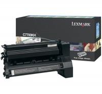 Lexmark Toner C7700KH black