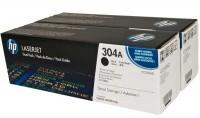 HP Toner Doppelpack CC530AD black