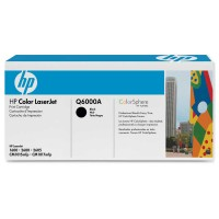 Original HP Color Laserjet Toner Q6000A black - reduziert