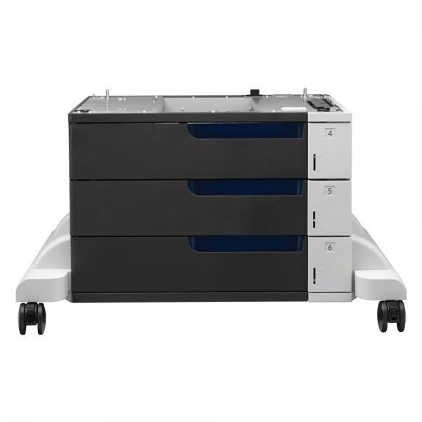 Druckerunterstand auf Rollen mit 3 x 500 Blatt Papierfächer