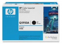 HP Color Laserjet Toner Q5950A black - Neu & OVP